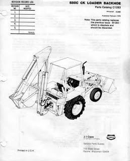 Case 580c 580ck Tractor Parts Manual Instant Download Case Tractors Tractors Tractor Parts
