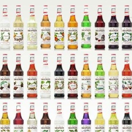 Monin Flavored Syrups Variety In 2021 Flavored Syrup Monin Sugar Free Syrup