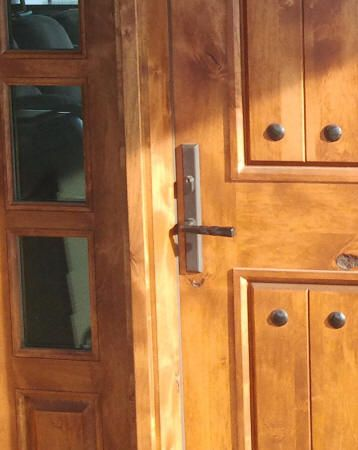 3 Point Lock System Multipoint Door Locks Wood Exterior Door Door Locks Stained Glass Window Panel