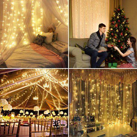 Home Curtain Lights Garden Party Wedding Starry Lights