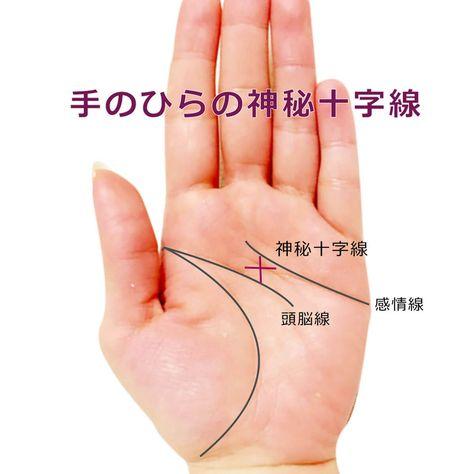 【手相紋占い3】手のひらにクロス・十字紋・十字線(バツ印×・プラス印+)がある手相の見方 | 簡単な手相の見方を伝授します