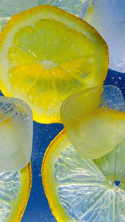 Iphone Wallpaper Lemons ice water summer wallpaper Hd - Best Home Design Ideas
