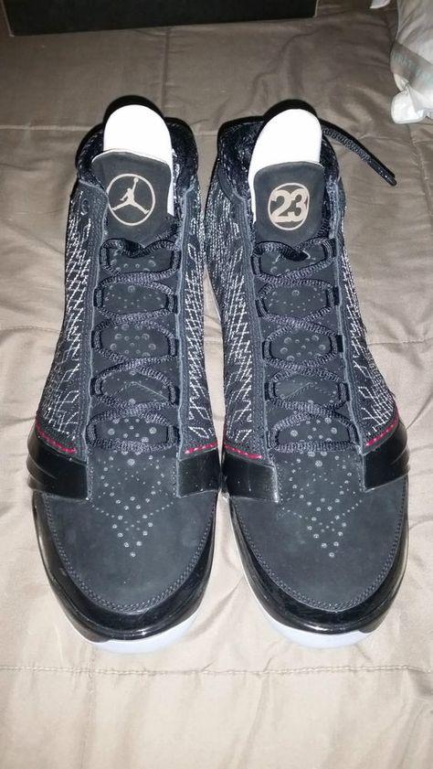 70328b01ee1a50 NIKE AIR JORDAN XX3 XXIII 23 STEALTH BLACK VARSITY RED SZ 11  Nike   BasketballShoes