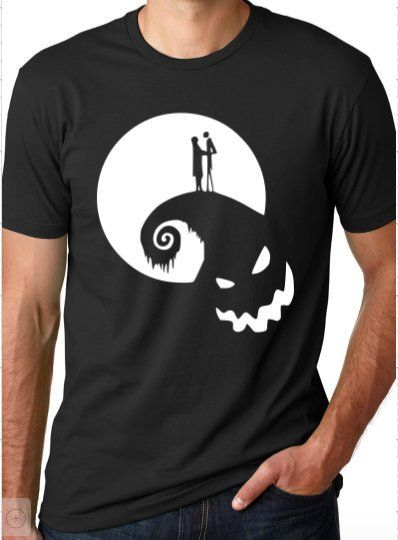 Halloween Jac-k Skull Nightma-re Kids T-Shirts Short Sleeve Tees Summer Tops for Youth//Boys//Girls