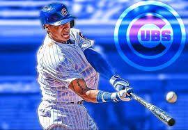 Image Result For Javier Baez Wallpaper Baseball Players Baseball Baseball Cards