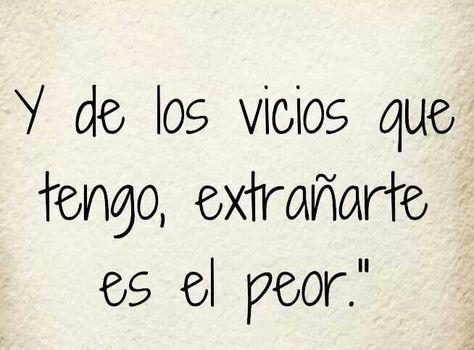 #vicio #extrañarte #extrañar