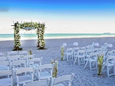 W South Beach Miami Weddings