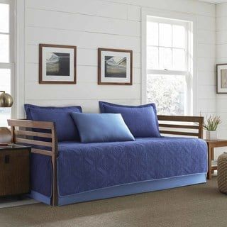 Eddie Bauer Axis Navy 5 Piece Daybed Cover Set Twin Daybed Sets Daybed Cover Sets Daybed Covers