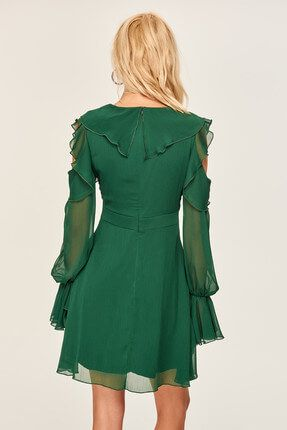 Gallery Image Elbise The Dress Yesil