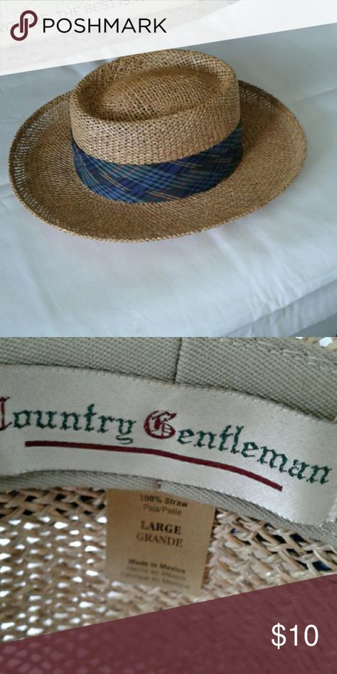 Mens Bahamas Hat Straw hat Country Gentleman Accessories Hats e143510bab4