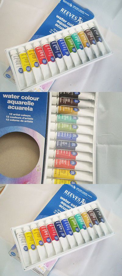 Details About Reeves Set Watercolor Water Paint Color 12 Assorted