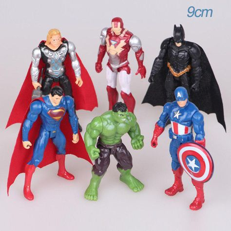 Marvel Avengers Iron Man Action Figure Toys Super Hero Figurines Gift Collection