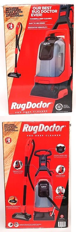 Carpet Shampooers 177746 New Rug Doctor Pro Deep Cleaner With
