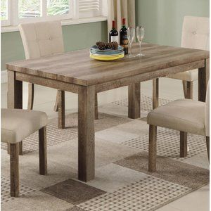 Millwood Pines Ephraim Dining Table Wayfair Narrow Dining