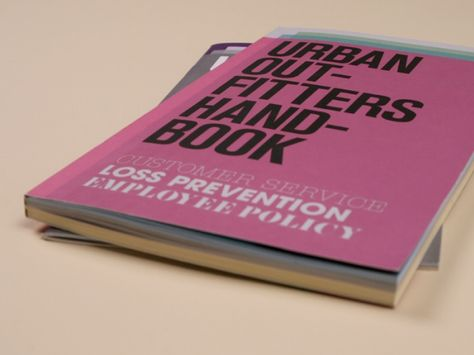 Employee Handbook Design  Graphic Design  Website Design