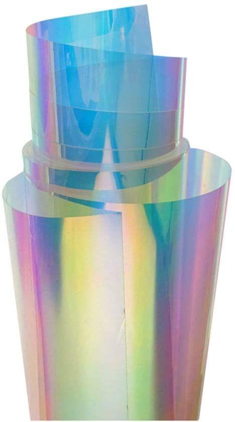 Hohofilm Fensterfolie 137 X 50 8 Cm Chamelon Regenbogen Effekt Schillernd Dekorativer Glas Aufkleber Selbstkleben In 2020 Fensterfolie Dekoratives Glas Dekofolie