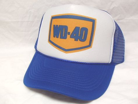 566a142637b WD-40 Trucker Hat - Automobile