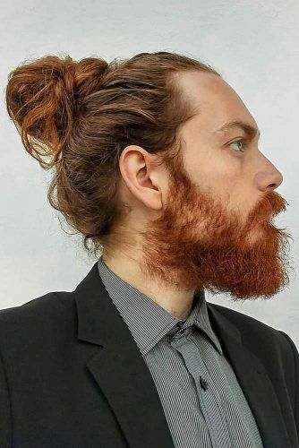 How To Get Style And Sport The On Trend Man Bun Hairstyle Chignon Pour Homme Coiffure Homme Tresses Homme
