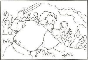 Coloring Sheet Of Gideon Gideon Gideon Coloring Pages Gideon