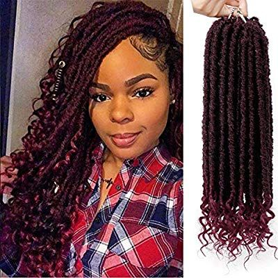 Amazon Com Aisibeauty Goddess Locs Crochet Hair Straight Faux