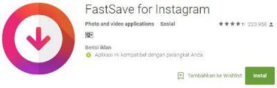 Pin Di Aplikasi Penyimpan Video Instagram