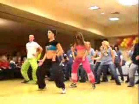 awesome zumba workout