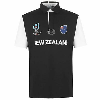 Advertisement Ebay New Zealand Rugby World Cup 2019 Short Sleeve Jersey Mens Black Fan Top Shirt In 2020 Mens Rugby Shirts Rugby World Cup New Zealand Rugby