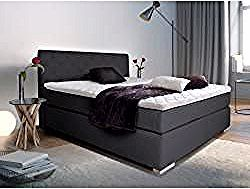 Premium Boxspringbett Inkl Kopfteil 160 X 200 Cm Mobel Einsmobel Eins In 2020 Box Spring Bed Bed Springs Master Bedroom Furniture
