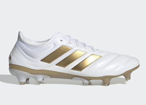 Adidas Copa 19 1 Fg Input Code Cloud White Gold Met Football Blue Adidasfootball Footballboots Adidassoccer Football Boots Adidas Adidas Football