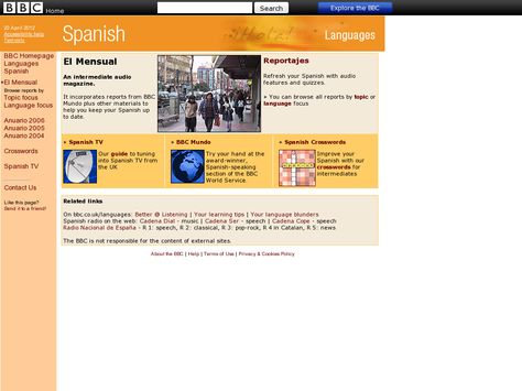 El mensual - news stories in Spanish from the BBC | General