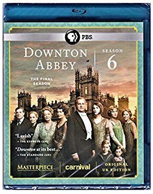 Amazon Com Downton Abbey Season 6 Original Uk Edition Blu Ray