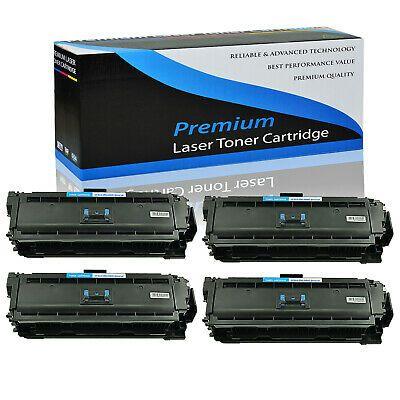 4 Pack Cf361a Cyan Toner Cartridge For Hp 508a Color Laserjet Enterprise M552dn In 2020 Toner Toner Cartridge Graphic Card