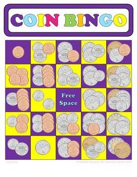 photograph regarding Money Bingo Printable identified as Economical Math - CANADIAN Introducing Cash Bingo Playing cards - 30 Exceptional