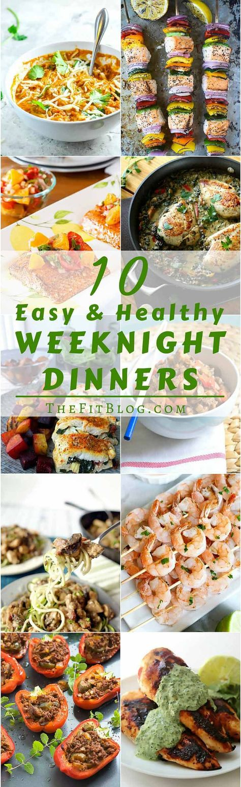 10 Healthy And Easy Weeknight Dinners – 10 recipes that are high in protein, moderate in carbs and fat, delicious, and ready in less than 30 min. #healthyeating #healthyrecipes #diabetesdiet #diabetesrecipes #diabeticdiet #diabeticfood #diabeticrecipe #diabeticfriendly #lowcarb #lowcarbdiet #dinnerrecipes #healthydinnerrecipes #easydinnerrecipes #highprotein #highproteinrecipes