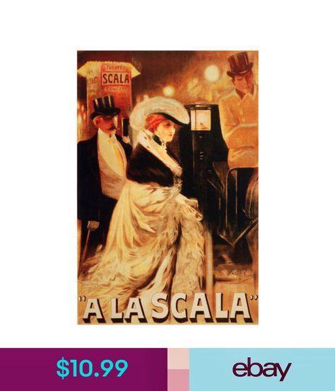 2514.Scala italian theater Opera POSTER.Home remodel interior room design art