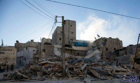 غارات متواصلة على حلب قبل ايام من محادثات دولية جديدة حول سورية