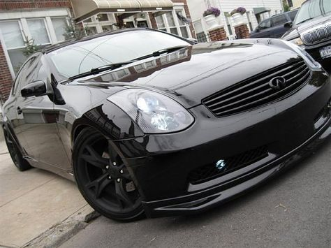 03 07 Infiniti G35 2dr Coupe Aftermarket Fog Lights With Images