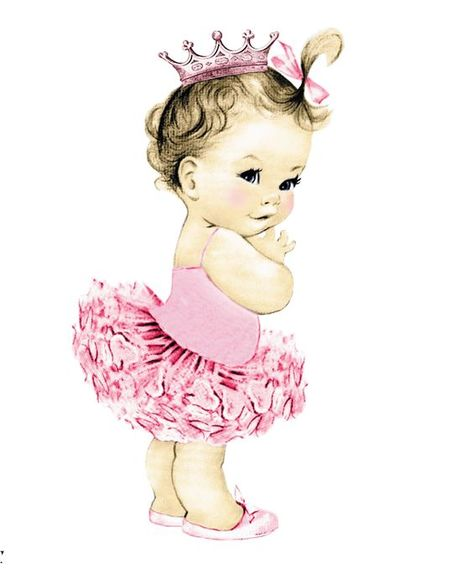 Pin By Marina On Detskij Albom Baby Girl Clipart Baby Art Baby Girl Art