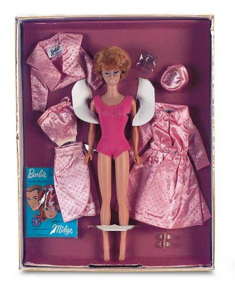 Vintage Mattel Barbie//Ken//Midge Mini Fashion Booklet//Catalog 1962