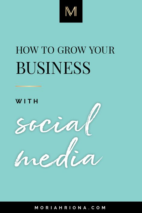 5 Tips To Building Your Brand With Social Media | Wondering how to gain more followers, build your influence, and find the perfect clients for your online business? This video is for you, friend! Click through to learn how to use Instagram, Facebook, Pinterest and more for your biz! #business #marketing #socialmedia #instagram
