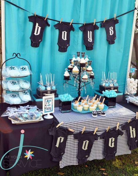 Ideas De Decoraciones Para Baby Shower De Nino.Fiesta Baby Shower 57 Fotos E Ideas Para Su Decoracion