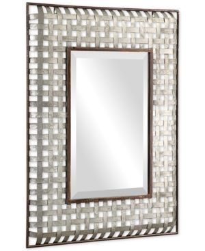 Uttermost Fabelle Galvanized Metal Mirror Reviews All Mirrors Home Decor Macy S In 2021 Metal Mirror Galvanized Metal Bronze Work