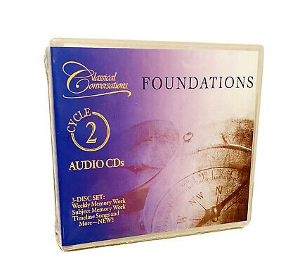 Classical Conversations Foundations Cycle 2 Audio Cds 3 Disc Set Memory Work Ebay In 2021 Classical Conversations Foundations Classical Conversations Foundation