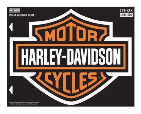 Harley Davidson Bar Shield X Large Decal X Large Size Sticker D3028 Harley Davidson Wallpaper Harley Davidson Decals Harley Davidson Stickers