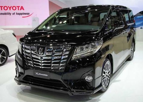 2018 Toyota Alphard Release Date Price Review Car Pinterest