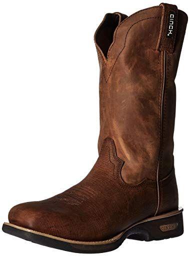 Smoky Mtn Mens Brushfield Wtrprf Steel Boot