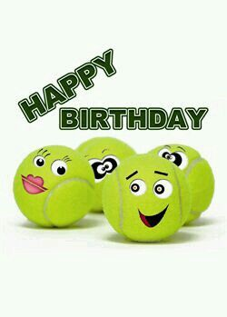 Pin By Jo Anne Beukes On Tennis Tennis Birthday Happy Birthday Husband Happy Birthday Greetings