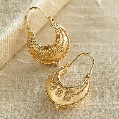 dragon age silver gold earrings