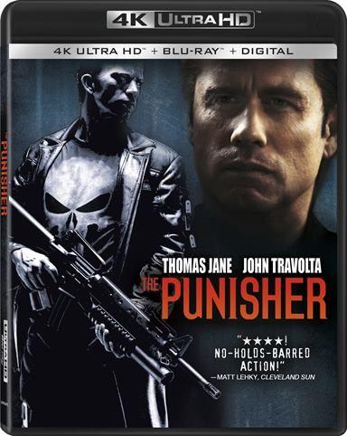 The Punisher 4k Ultra Hd Review The Punisher Movie Thomas Jane Punisher