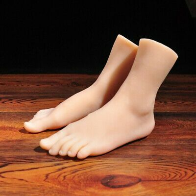 Silicone Model Mannequin Lifelike Or Right Feet One Display Legs Female Left